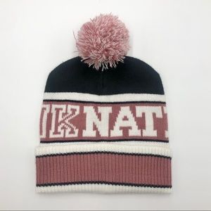 VS PINK Nation beanie OS